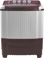 Micromax 8.5 kg Semi Automatic Top Load Washing Machine White, Maroon(MWMSA855TVRS1BR)