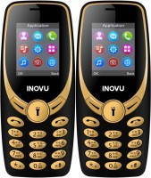 Inovu A1s Combo of Two Mobiles(Black&Gold$$Black&Gold)