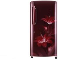 View LG 215 L Direct Cool Single Door 4 Star Refrigerator(Ruby Glow, GL-B221ARGX) Price Online(LG)