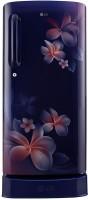 LG 235 L Direct Cool Single Door 4 Star Refrigerator(Blue Plumeria, GL-D241ABPX) (LG)  Buy Online