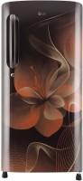 LG 190 L Direct Cool Single Door 4 Star Refrigerator(Hazel Dazzle, GL-B201AHDX)