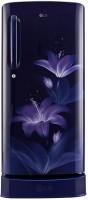LG 190 L Direct Cool Single Door 4 Star Refrigerator(Blue Glow, GL-D201ABGX)