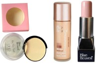 Blue Heaven oil free foundation uhd compact and uhd makeup stick set of 3(Set of 3)