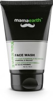 Mamaearth Refresh Oil Control Facewash for Men with Charcoal and Walnut, SLS & Paraben Free Face Wash(100 ml)