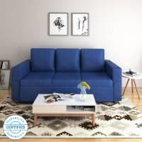 Flipkart Perfect Homes Canterbury Fabric 3 Seater  Sofa