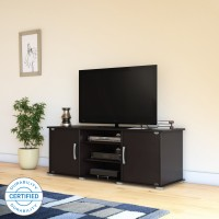 Flipkart Perfect Homes Riobo Engineered Wood TV Entertainment Unit(Finish Color - Wenge)