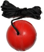 TIMA FKT Hanging Ball Vib2765 For Cricket Practice With Reaction String Cricket Training Ball(Pack of 1, Red)