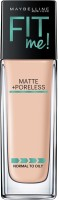 Maybelline Fit me matte+poreless Foundation(Ivory, 115)