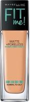 Maybelline New York Fit Me Matte+Poreless Liquid, 30ml Foundation(230 - Natural Buff, 30 ml)