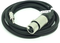 SeCro 3.5mm Male to XLR Female Cable - Professional Low Noise Microphone Cable (5 Meters) XLR Cable(Black)