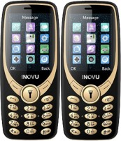 Inovu A9 Combo of Two Mobiles(Black&Gold)