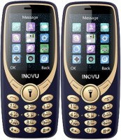 Inovu A9 Combo of Two Mobiles(Blue&Gold)