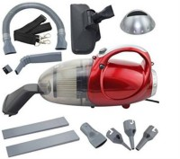 Shrih SHV-2209 Hand-held Vacuum Cleaner(Red and Black)