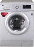 LG 7 kg Fully Automatic Front Load Washing Machine Silver(FH0G7QDNL52)