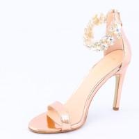 Dech Barrouci Women Golden Heels