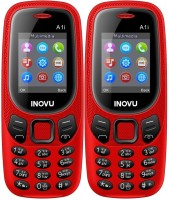 Inovu A1i Combo of Two Mobiles(Red)