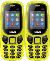 Inovu A1i Combo of Two Mobiles(Yellow)