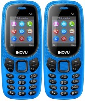 Inovu A1i Combo of Two Mobiles(Blue)