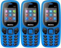 Inovu A1i Pack of Three Mobiles(Blue)