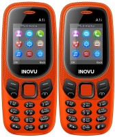 Inovu A1i Combo of Two Mobiles(Orange)