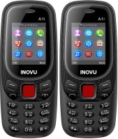 Inovu A1i Combo of Two Mobiles(Black)