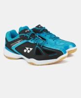 Yonex SHB 35 EX Badminton Shoes For Men(Black, Blue)