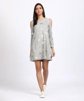 Jealous Womens T Shirt Grey Dress