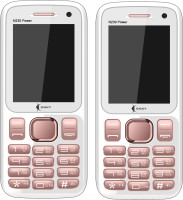Ssky N230 Power Combo of Two Mobiles(Rose Gold)