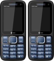 Ssky N230 Power Combo of Two Mobiles(Blue & Black)
