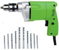 GREEN HOME Power Drill Machine Pistol Grip/Multicolour/10mm/300watt/230v/6 month warranty/ GHPDM0614/10mm Pistol Grip Drill(10 mm Chuck Size)