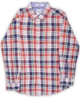 Lee Cooper Boys Checkered Casual Spread Shirt