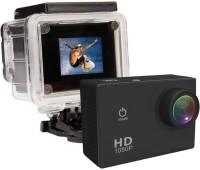 Doodads 1080P Sports DV Action Waterproof Camera Waterproff Sports & Action Camera(Black)