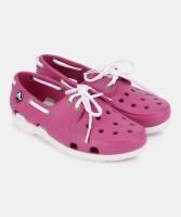 Crocs Girls Lace Clogs(Pink)