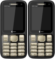 Ssky N230 Power Combo of Two Mobiles(Black & Gold)