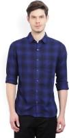 WROGN Men's Checkered Casual Spread Shirt