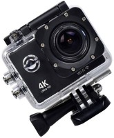 ALONZO Wifi 4K Action Camera Ultra HD 100Feet Waterproof Sport Camera 2 Inch LCD Screen 16MP 170 Degree Wide Angle Sports and Action Camera(Black, 16 MP)