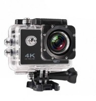 ALONZO Action Camera 4K Sports Action Camera Portable Package,12MP Ultra HD 30M Waterproof DV Camcorder 2 Inch LCD Screen, 170 Degree Wide Angle Sports and Action Camera(Black, 12 MP)