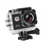 ALONZO Action Camera 4k action camera Sports and Action CameraTARVIK 4K Ultra HD 12 MP WiFi Waterproof Digital 4K Action & Sports-1 Body Only Sports & Action Camera Sports and Action Camera(Black, 12 MP)