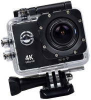 ALONZO Wifi Waterproof Sports 4K Wifi Action Camera – 4K Ultra HD, 16MP,2 Inch LCD Display, HDMI 170 Degree Wide Angle Sports and Action Camera(Black, 16 MP)