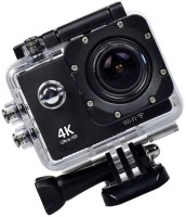 ALONZO Wifi 4K Action Sports and Action Camera(Black, 16 MP)