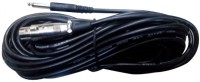 5 CORE 9 Meter Female to P38 Microphone Cable(Black)