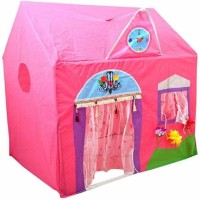 crazy toys jumbo size queen palace tent house for kids fun(Pink)