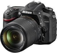 Nikon D7200 DSLR Camera AF-S 18 - 200 mm VRII Kit Lens(Black)
