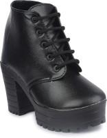 Do Bhai Boots For Women(Black)
