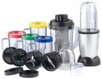 Amazing Bullet AG-05-0001 450 Juicer Mixer Grinder(black & silver, 5 Jars)