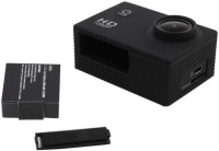 Doodads Action camera Full HD Action Recording Camera Waterproof 30M Super Wide Angle Lens 140 Degree Sports and Action Camera(Black, 12)