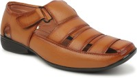 Zixer Men Tan Sandals
