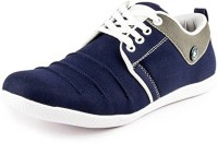 Axonza Blue Button-560 Casuals For Men(Multicolor)
