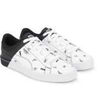 Puma Boys & Girls Lace Sneakers(White)