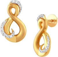 TBZ TheOriginal Everyday Yellow Gold 18kt Stud Earring
